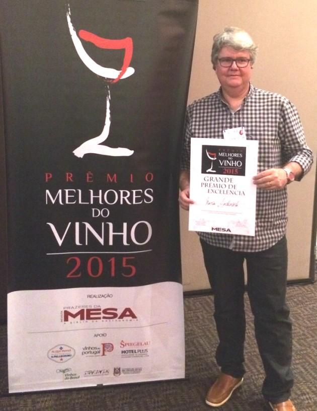 Maria Antonieta - Prêmio de vinhos