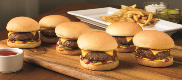 Outback - Ridgy Didgy Mini Burger