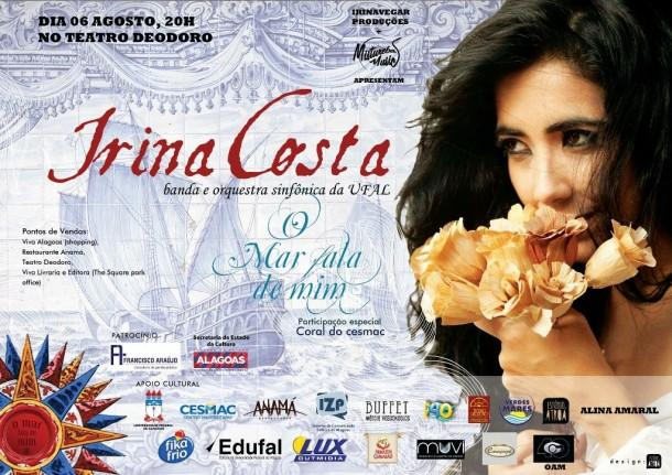 Irina Costa - show o Mar fala de mim
