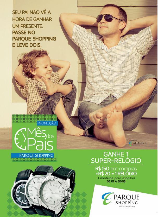 Parque Shopping - Programação Dia dos Pais