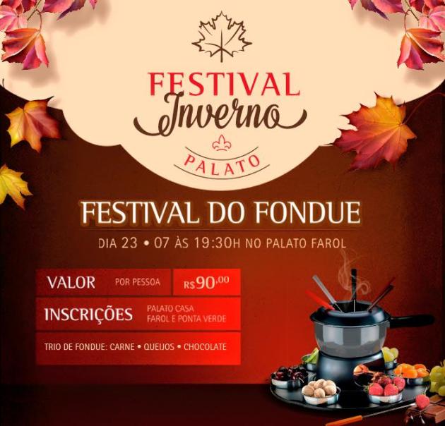 Palato - Festival de Inverno Fondue