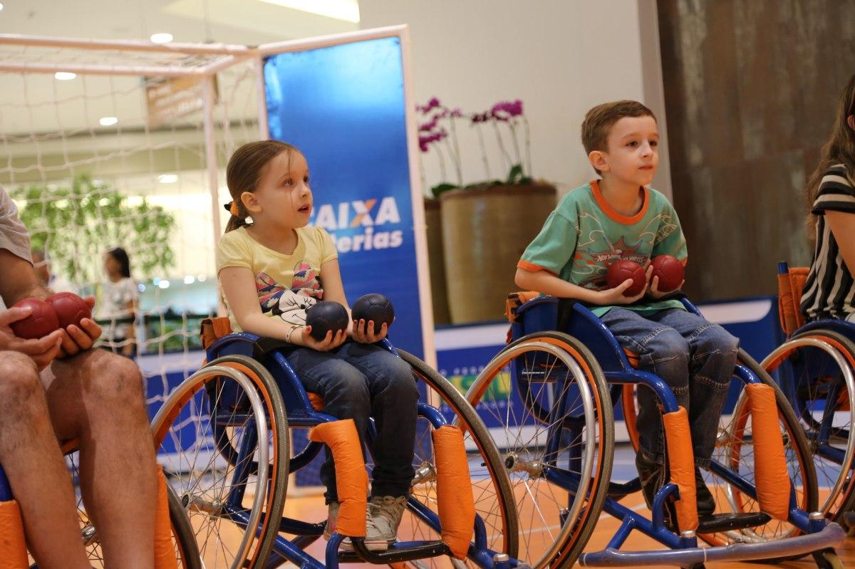 Projeto  Experimentando Diferenças  traz arena paralímpica ao Parque  Shopping   Amais 20ddc9d87a